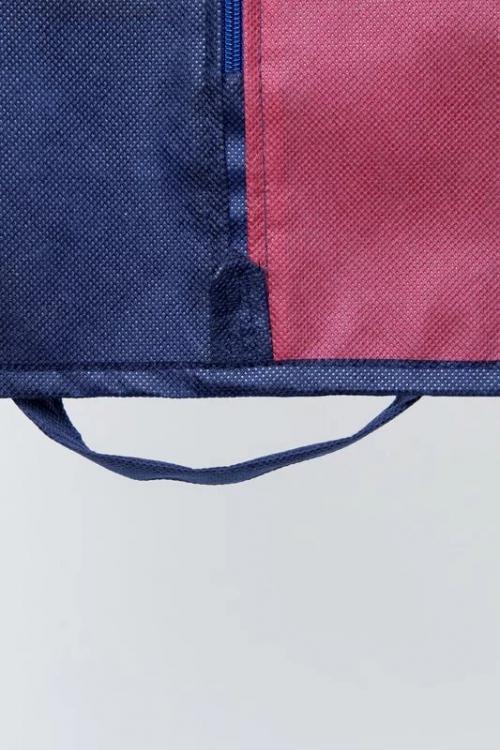 Чехол для одежды 145*60*10 см, двухцветный