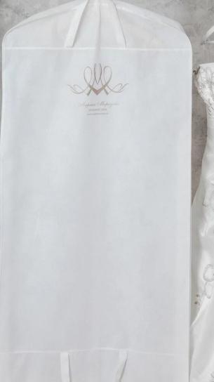 Чехол для свадебного платья 185*60*10 см